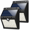 Picture of 46 LED Solar Motion Sensor Security Lights Waterproof Wireless Solar Powered Light Outdoor Wall Lights Solar Lamp with 3 Modes Garden, Fence, Outside Wall (2Pack)