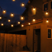 Picture of Outdoor Garden String Lights, 25ft G40 LED Garden Patio Outside String Lights,Waterproof Indoor/Outdoor String Lights, Great Garden Terrace Patio Outside Xmas Lights (25 Bulbs,3 Replacement Bulbs)