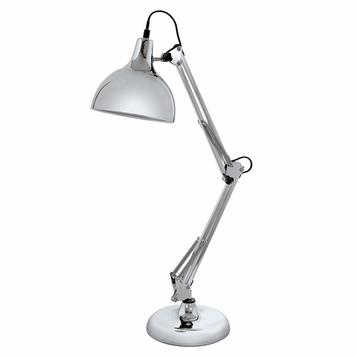 Picture of Table Lamp, Steel 40 W, Chrome [Energy Class E]
