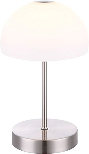 Picture of Snowflake Table Lamp, 5 W, Nickel [Energy Class A]