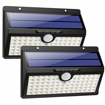 Picture of Solar Lights Outdoor, Upgraded 78 LED Solar Motion Sensor Security Lights 2000 mAh Solar Powered Lights Waterproof Wireless Wall Lights Solar Lamps with 3 Intelligent Modes for Garden(2 Pack)