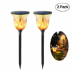 Picture of Solar Garden Torch Lights, Hansemay Waterproof Led Flickering Flame Torch Lights Outdoor 96LED for Garden Patio Deck Yard Driveway, Christmas Thanksgiving New Year Decoration Lighting