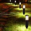Picture of Garden Lights, 3W 12V Low Voltage Outdoor LED Landscape Lights, 4 Pack Waterproof Path Yard Lights for Patio Deck Yard Garden Driveway Pool Area, 5 Years Warranty [Energy Class A]