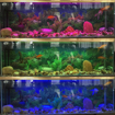 Picture of LED Aquarium Light, Fish Tank Light with Remote Controller, Garden Pond Light, RGB Color Changing, Waterproof, 36 LED Underwater Spot Lights (Set of 4 Lights)