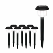 Picture of Solar Garden Lights Outdoor, Waterproof Solar Powered Durable Pathway, Walkway, Patio and Landscape Led Lighting 8-Pack