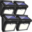 Picture of Solar Lights Outdoor, Solar Powered Security Lights,Waterproof Wireless Solar Security Lights Motion Sensor for Outdoor Gate,Yard,Steps,Patio,Fence,Driveway, Garden (28LEDs,4 Packs) [Energy Class A+++]