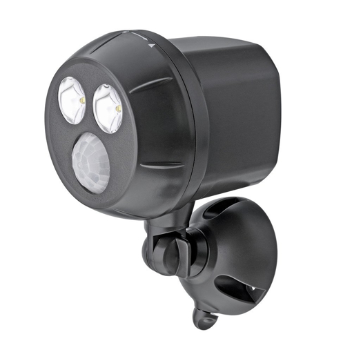 Picture of MB390 300-Lumen Weatherproof Wireless Battery Powered LED Ultra Bright Spotlight with Motion Sensor, Brown