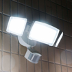 Picture of 3800LM LED Security Light, 35W Outdoor Motion Sensor Light, 5000K, 3 Adjustable Head Flood Light with 2 Modes Automatic and Permanent on, for Entryways, Stairs, Yard and Garage [Energy Class A+]