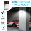 Picture of LED Outdoor Wall Light,26W 3000lm 5000K Security Light,Waterproof IP65,100-277Vac,150-250W MH/HPS Replacement,Outdoor Garden Lights(26W-Dusk-to-dawn Photocell)