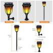 Picture of Solar Garden Lights, Torch Lights Waterproof Dancing Flickering Flame LED Lighting Outdoor Landscape Decoration Dusk to Dawn Security Path Lights for Garden Patio Deck Yard Driveway (2 Pack)