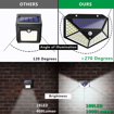 Picture of Solar Lights Outdoor, Solar Powered Motion Sensor Security Lights 100 LEDs Outdoor Waterproof Wall Light Wireless Lamps with 3 Modes with 270° Wide Angle for Garden, Patio Yard, Deck Garage, Fence