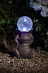 Picture of Solar Powered Gazing Frog Decorative Garden Ornament