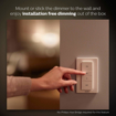 Picture of Smart Wireless Dimming Kit (Installation-Free, Exclusive for Hue Lights, Compatible with Amazon Alexa, Apple HomeKit and Google Assistant) [Energy Class A+]