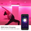 Picture of WiFi Smart Bulb E14, Works with Alexa, Google Home and IFTTT, 5W=40W E14 Candle Bulbs, Warm White 3000K+RGB Colour LED Bulb, Perfect for Kitchen, Bedroom, Living Room, 2 Pack [Energy Class A+]