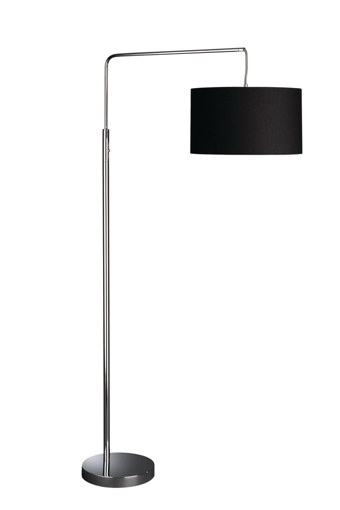 Picture of Energy Saving 42216/11/13 Single Light Floorstand (Chrome) - Latest Technology Comes With Free Bulb