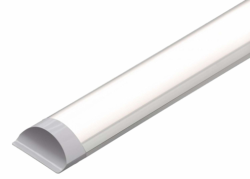 Picture of LED Batten Slimline Profile Wide Tube Warm White 3000K Available in 4ft 5ft 1500x75x24mm 45W Wall and Ceiling Light Replaces 160W Lifespan 40000h Brightness 4500lm … (5FT 150 cm) [Energy Class A+]