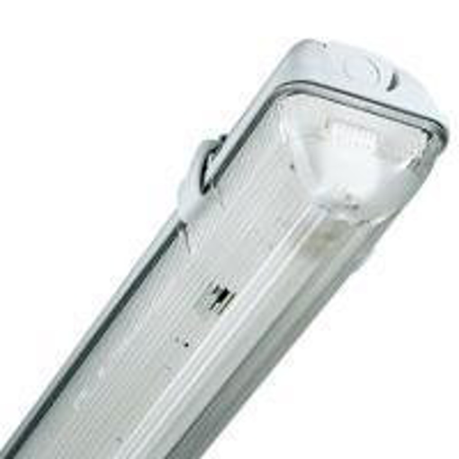 Picture of IP65 HIGH FREQUENCY SINGLE T8 5FT 58W FLUORESCENT FITTING NON CORROSIVE