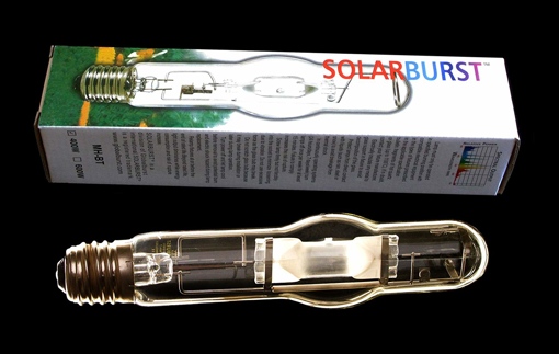 Picture of 600 watt Super Metal Halide hydroponic growlight bulb