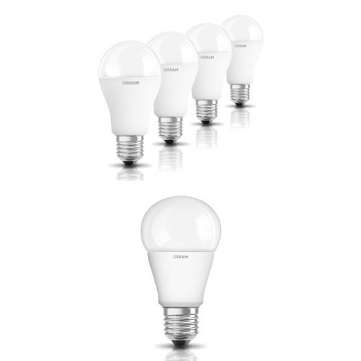 Picture of LED Superstar LED classic bulb E27 Dimmable 9 W, Frosted, Warm White, Bundle of 20
