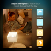Picture of Hue White and Colour Ambiance Personal Wireless Lighting 2 x 6.5 W E14 Small Edison Screw LED Twin Pack Light Bulbs, Perfect Fit, Apple HomeKit Enabled, Works with Alexa [Energy Class A+]