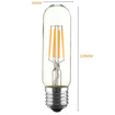 Picture of E27 4W T10 Led Cob Vintage Light Retro Edison Style Screw Incandescent Bulb Replacement Squirrel Cage Nostalgic Dimmable Warm White 2300K 400LM 220V [Energy Class A+] by KINGSO