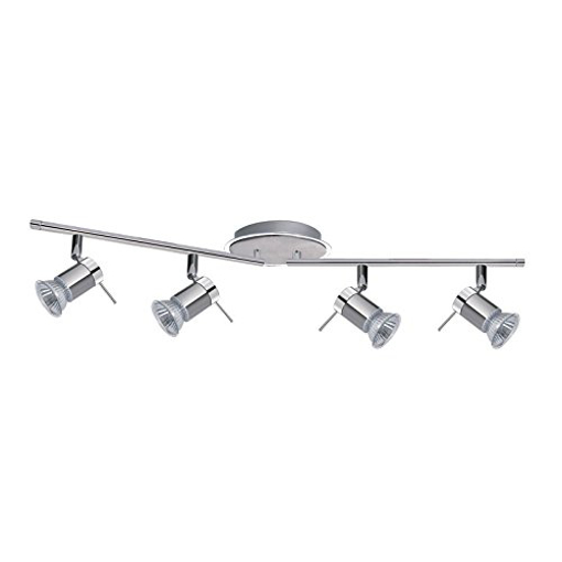 Picture of Aries 4 LED Bathroom Spot Light Bar Fitting 7444CC-LED Chrome Satin Silver