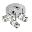 Picture of Electric - LED Bathroom Polished Chrome Triple IP44 Round Plate Spot Light