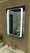 LED Bathroom Mirror, battery powered, eco friendly low energy rating A++, LUXURY FOR ANY BATHROOM! [Energy Class A++]