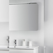 Picture of LED light for bathroom mirror 14W, Chromed, L 800mm