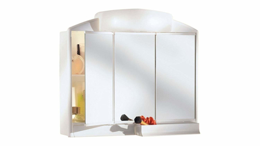 Picture of Bathroom Cabinet, 3 Doors with Random Light