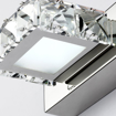 Picture of Fashion Waterproof LED K9 Crystal Wall Lamp 3-Light