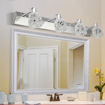 Picture of Simple LED Mirror Front Lamp Stainless Steel Mirror Cabinet Lamp
