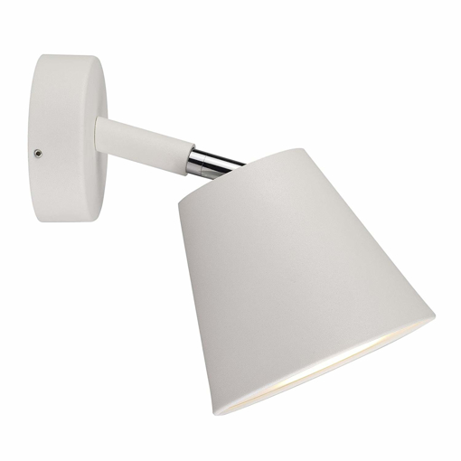 Picture of Wall Spotlight GU10 Metal 12.2 x 13.4 x 18.5 cm White