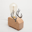Picture of Modern Art Decoration Wooden Desk Table Lamps
