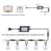 Picture of 16 Pcs LED Decking Lights,Waterproof Plinth Deck Lights