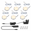 Picture of Under Cabinet Lighting Kit, 12W, 1020 Lumens, LED Puck Lights