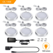 Picture of Set of 6 LED Under Cabinet Light, 3000K Warm White