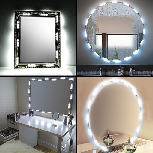 Picture of Led Vanity Mirror Lights, Dimmable Makeup Lights Strip Fixture