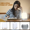 Picture of Wake up Light Alarm Clock with 5 Nature Sound, Touch Control