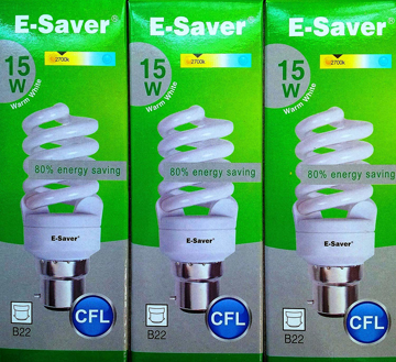 6 x GU10 LOW ENERGY COOL WHITE SPOT LIGHT BULBS 11w=50w ENERGY SAVING