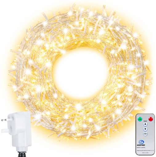 Picture of LED Outdoor String Lights Ollny 800 LEDs 100m