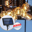 Picture of Solar Led String Lights, 18FT 12 LED Bulbs