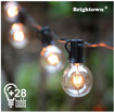 Picture of Outdoor String Lights,25Ft G40 Globe Light String with 28 Clear Bulbs