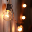 Picture of 25ft Weatherproof Globe String Lights with 25 G40 Bulbs.