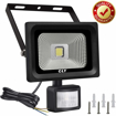 Picture of CLY Security Lights with Motion Sensor, 10W LED Floodlight Super Bright 1000Lumen PIR Lights