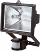 Picture of Bond Hardware® 500W Black Aluminium Halogen Floodlight.
