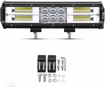 Picture of Safego 162W LED Light Bar 12 Inch 12960LM LED Work Light Spot Flood Combo Beam Off Road Driving Fog Lights for Truck SUV ATV 4WD Car Boat 12V/24V
