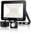 Picture of bapro 50W LED Security Lights with Motion Sensor, Slim Flood Light.