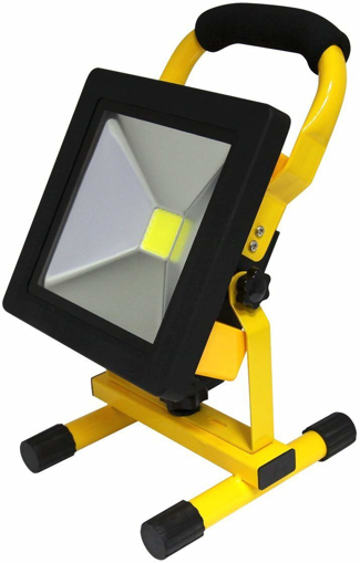 Picture of 20W Portable LED Work Light Cordless Rechargeable.
