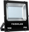Picture of 100W Outdoor LED Floodlight,500W Halogen Equiv Work Lights, Waterproof IP66 Security Super Bright Light 10000Lm